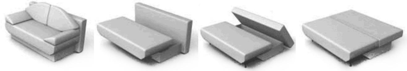 механизм для мягкой мебели «Пантограф».