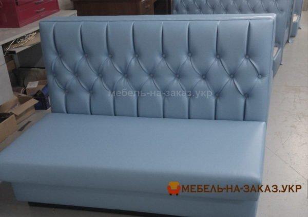 голубые диваны в кафе под заказ в Киеве