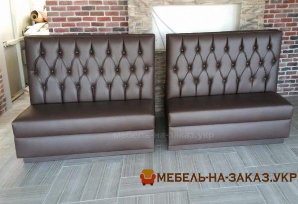 дизайнерская мягкая мебель в Кафе