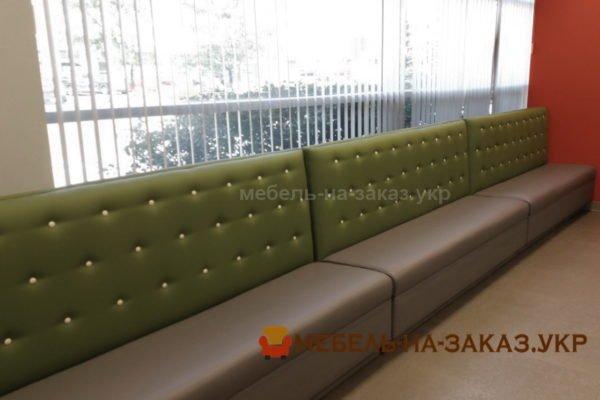 модульные статарные диваны для кафе