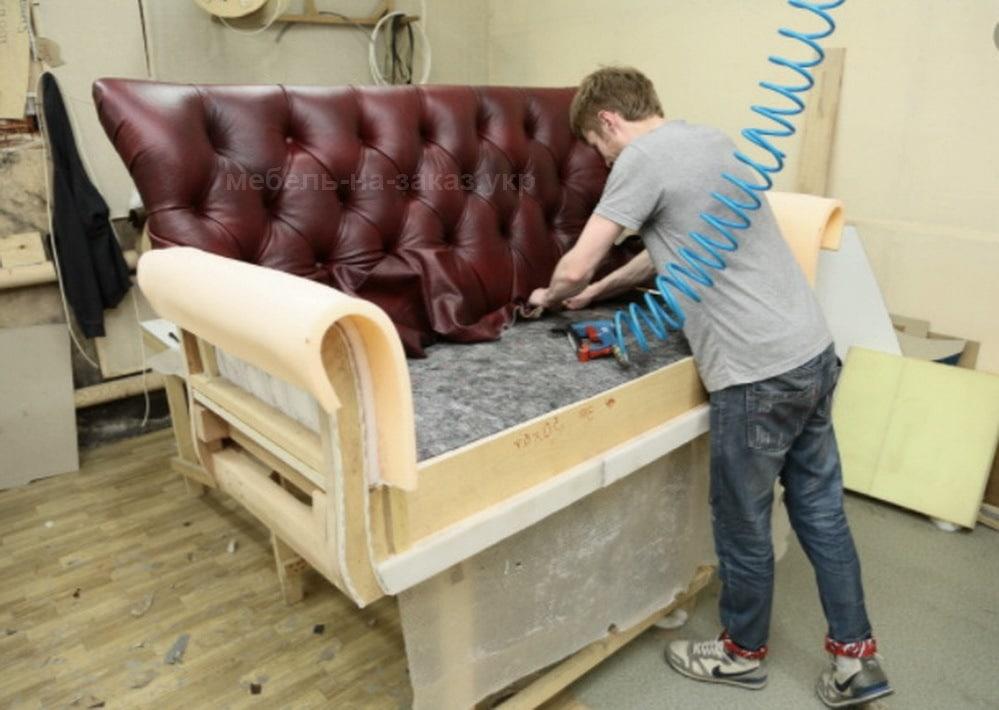 как делают диваны