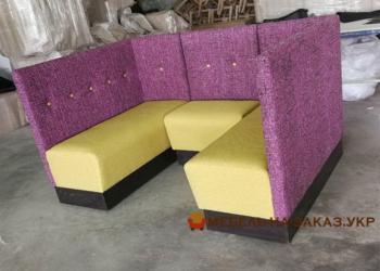 цветной модульный диван для кафе