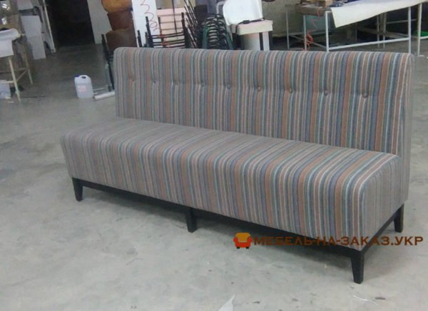 мягкая мебель заказная для кафе