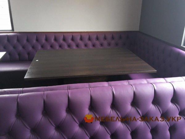 canapé dans le restaurant
