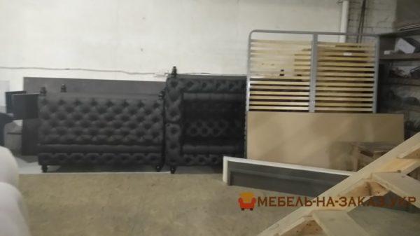 процесс изготовление диванов для кафе Киев