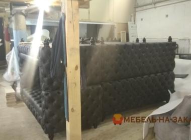 процесс изготовление диванов для кафе Ирпень