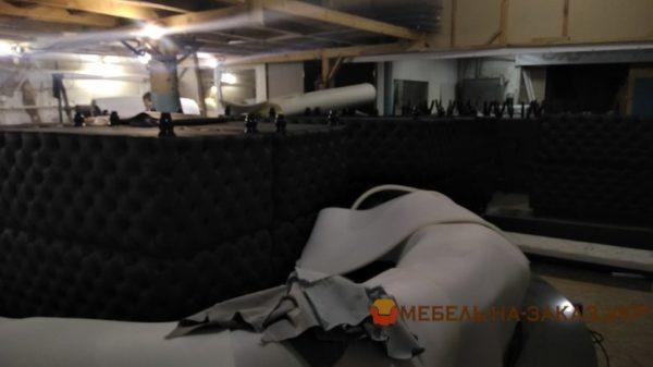 процесс изготовление диванов для кафе Житомир