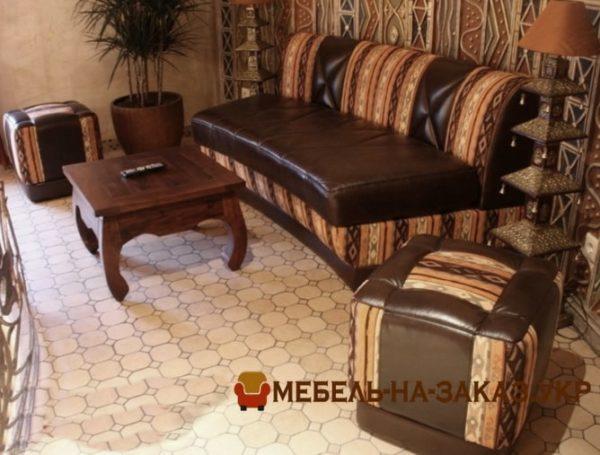 кресла и пуфики для кафе