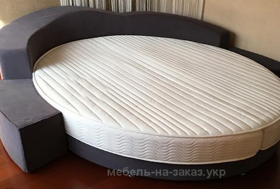 заказная элитная круглая кровать на заказ