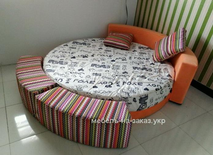 галерея круглых кроватей