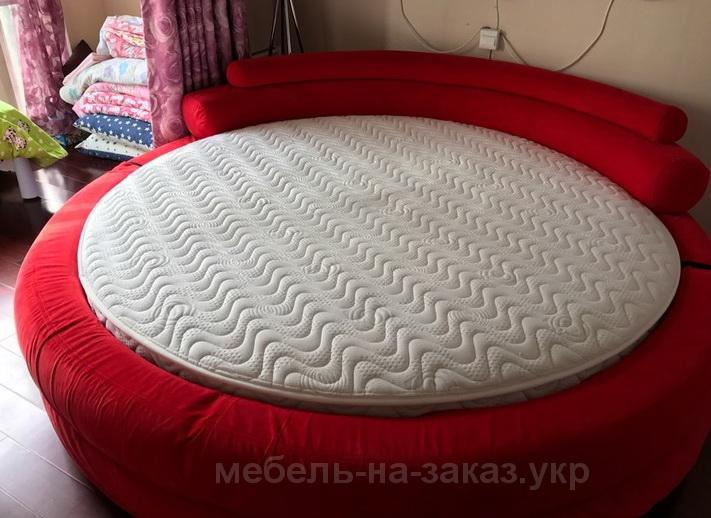 радиуная красная кровать УКраина