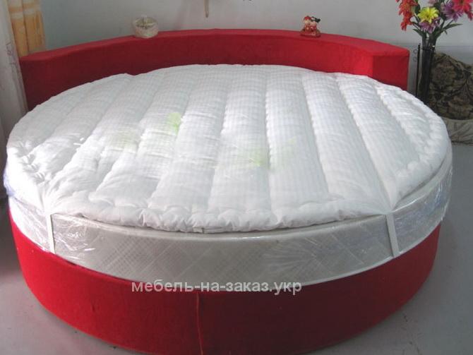 кровать круглой формы