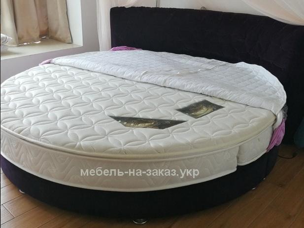 итальянская круглая кровать на заказ Борисполь