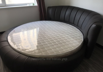 итальянская круглая кровать на заказ Чернигов