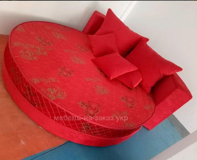 заказная круглая кровать Москва