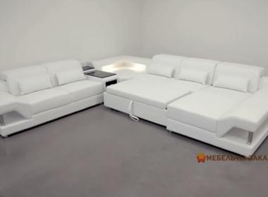 угловой умный диван