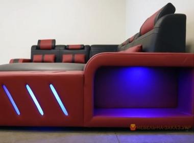 модульный умный диван с подсветкой