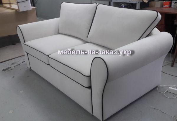 белый диван с креслом на заказ