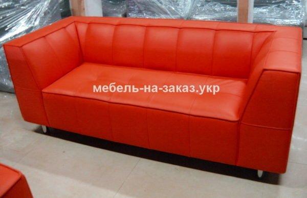 красный диван для кафе на заказ