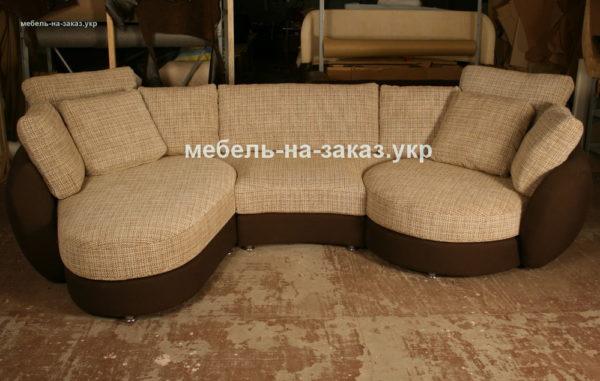 модульный диван п образный
