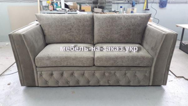 маленький серый диван на заказ Киев