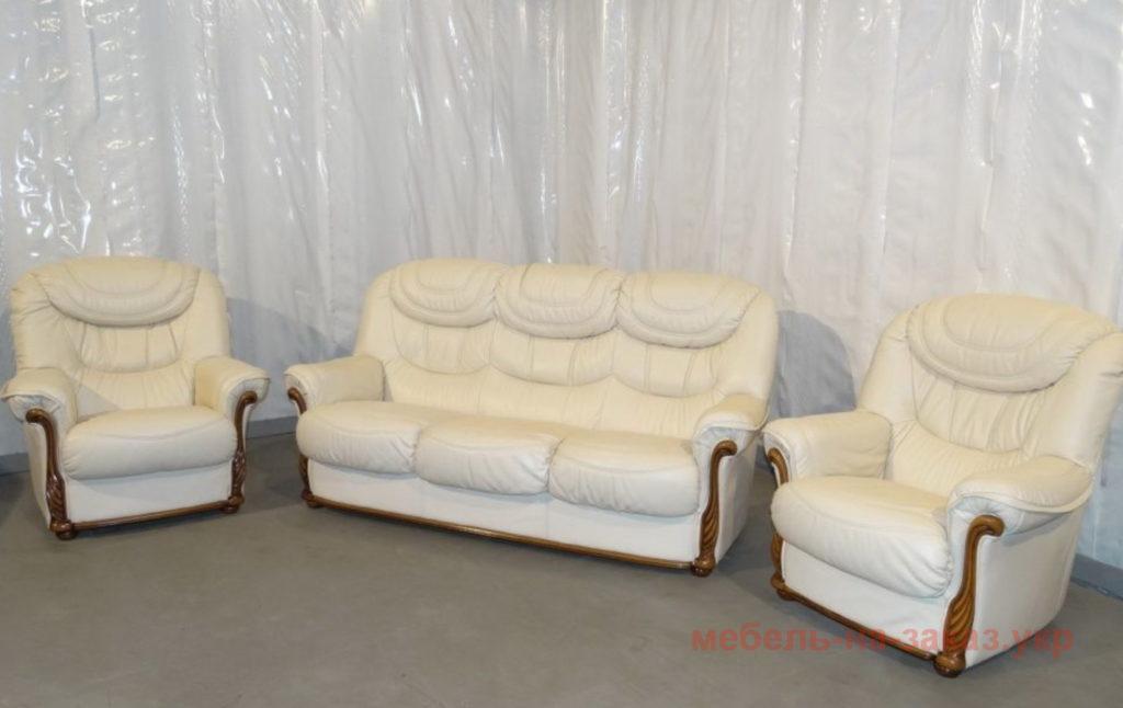мягкая мебель из кожи под заказ