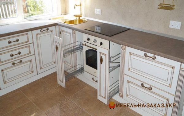 элитная деревянная кухня
