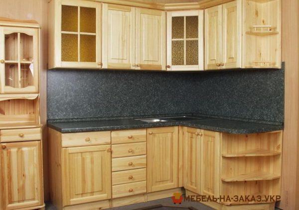 фотография деревянной кухни
