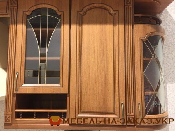 фасады стеклянные кухни