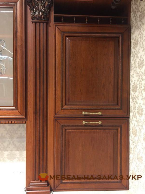 Деревянные фасады для классической кухни Троещина