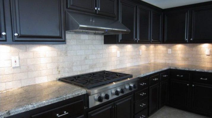 оттенки черного цвета кухни