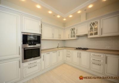 кухня в классическом стиле на заказ