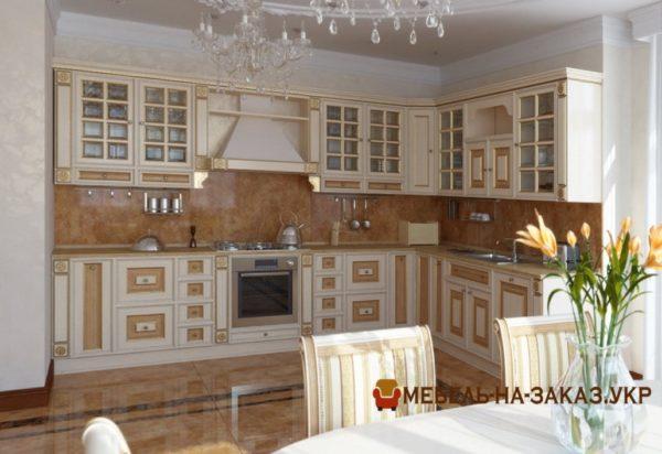 производство авторских дизайнерских кухонь