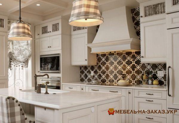 элитная деревянная авторская кухня