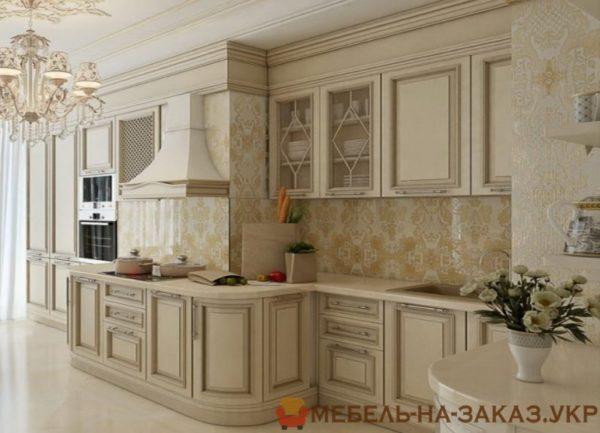 заказать авторскую кухня из дуба Киев