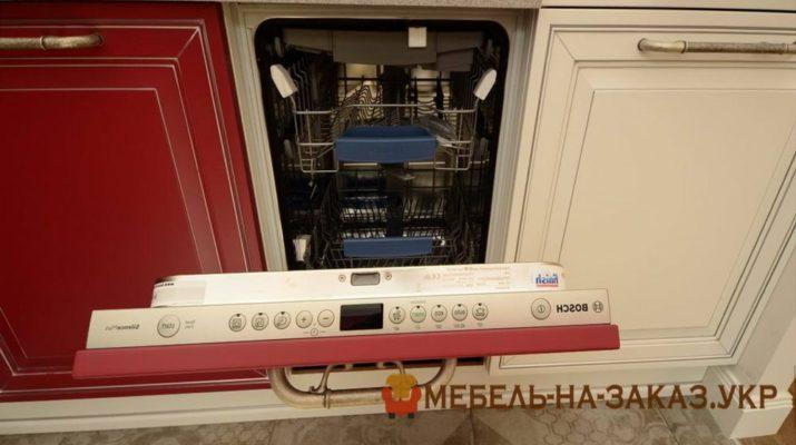 красно белая кухня заказать в Украине