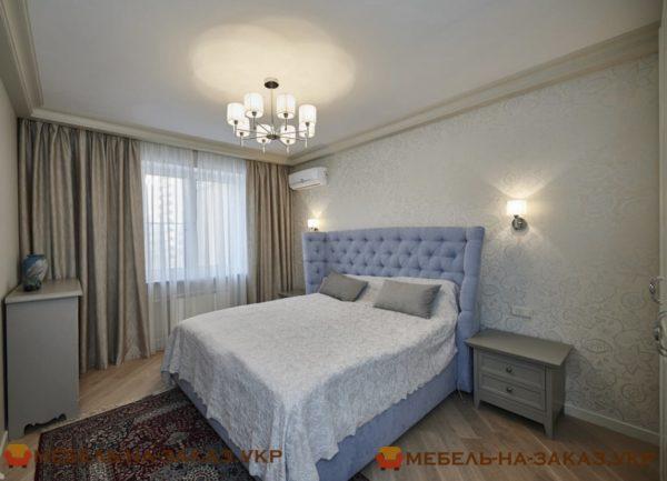 мебелировка спальни под заказ