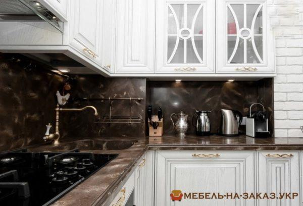 авторская деревянная кухня на заказ Троещина