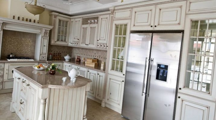 авторская деревянная кухня на заказ Бориполь