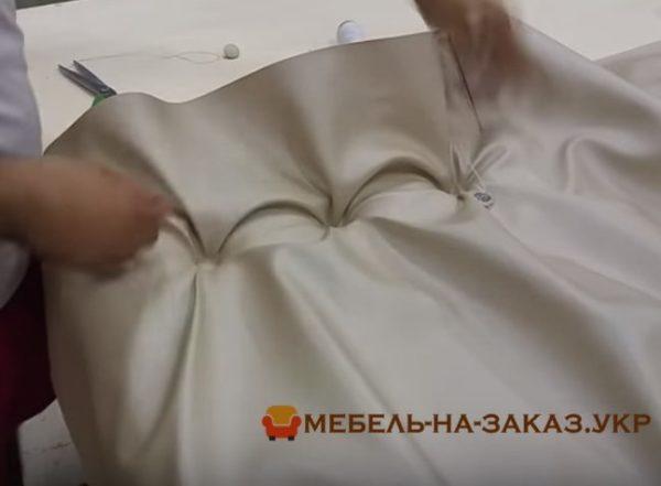 производство мягкого изголовья для крвоати