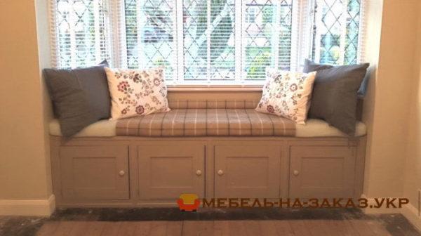 изготовление эркерной мебели