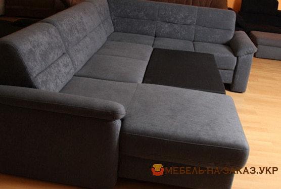 п образный диван под заказ в Киеве