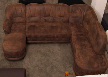 коричневый п образный диван в киеве