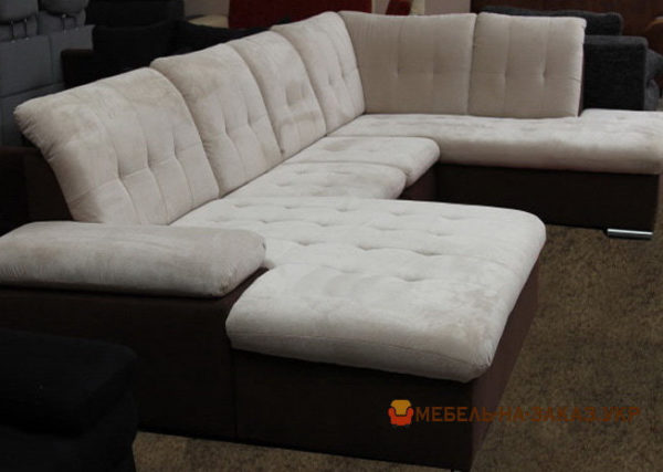 модульная диван со спальным местом хай-тек под заказ