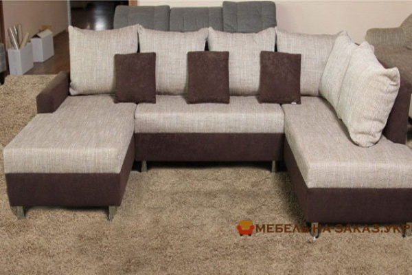 диван со спальным местом хай-тек под заказ