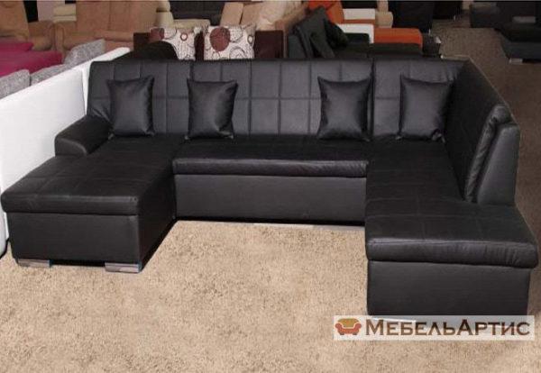 п образный диван хай-тек