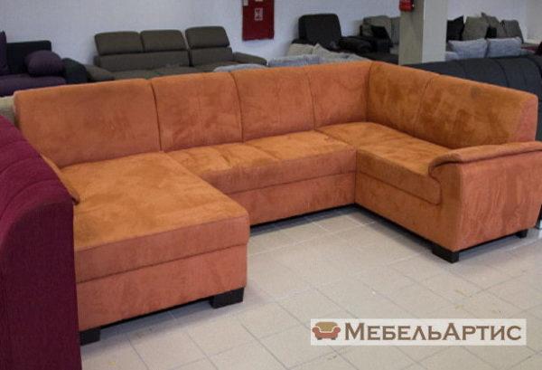варинаты п образных диванов на заказ