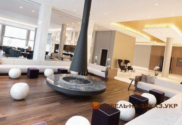 дизайн мебели отеля