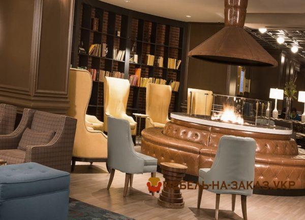 дизайн хола отеля