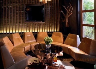 элитный круглый диван